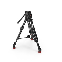 OConnor 1030Ds Fluid Head and Tripod PNG & PSD Images