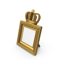 Square Baroque Picture Frame PNG & PSD Images