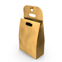 Recycled Paper Bags Open Gold PNG & PSD Images