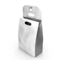 Recycled Paper Bag Open Silver PNG & PSD Images