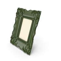 Baroque Green Vintage Photo Frame PNG & PSD Images