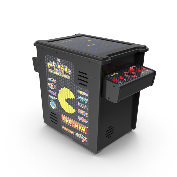 Pac Man Arcade Casino Cabinet Machine PNG & PSD Images