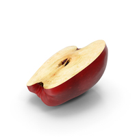Red Chief Apple Cut PNG & PSD Images