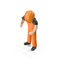 Worker Pose PNG & PSD Images