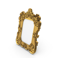 Baroque Picture Photo Frame PNG & PSD Images