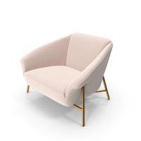 Dora Lounge Armchair PNG & PSD Images