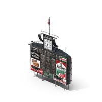 Classic Baseball Scoreboard PNG & PSD Images