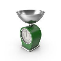 Green Kitchen Scale PNG & PSD Images