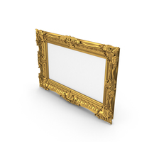 Baroque Picture Frame PNG & PSD Images