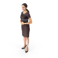 Spring Businesswoman PNG & PSD Images