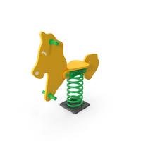 Horse Spring Rocker PNG & PSD Images