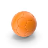 Soccer Ball Orange PNG & PSD Images