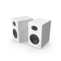 White Speakers PNG & PSD Images