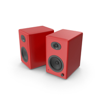 Red Speakers PNG & PSD Images