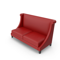 Leather Club Sofa PNG & PSD Images