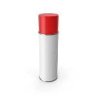 Red Spray Paint Can PNG & PSD Images