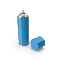 Open Spray Paint Can PNG & PSD Images