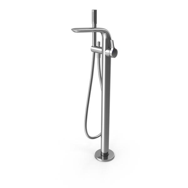 Ideal Standard Melange A6120 Bathroom Floor Mixer PNG & PSD Images