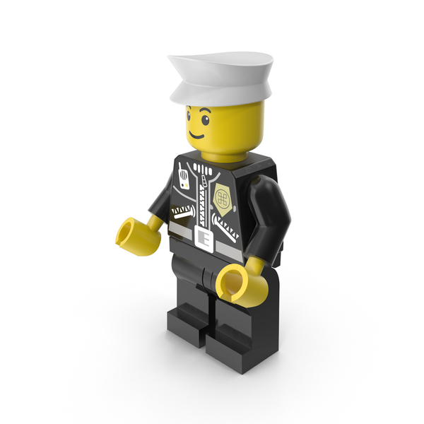 Lego Policeman Minifigure PNG & PSD Images