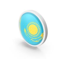 Flag Kazakhstan PNG & PSD Images