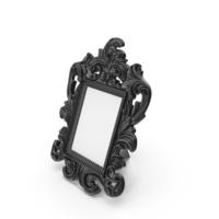Black Baroque Photo Frame PNG & PSD Images
