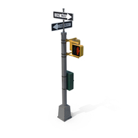 Pedestrian Traffic Lights PNG & PSD Images