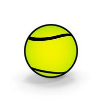 Cartoon Tennis Ball PNG & PSD Images