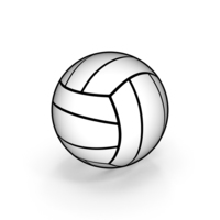 Cartoon Volleyball PNG & PSD Images