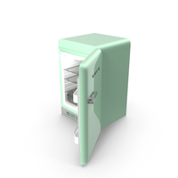 Open Refrigerator Green PNG & PSD Images