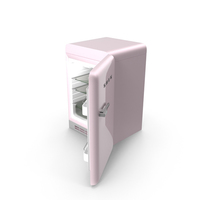 Open Refrigerator Pink PNG & PSD Images