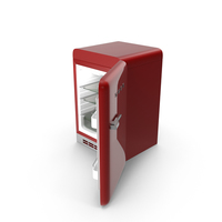 Open Red Refrigerator PNG & PSD Images