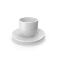Cartoon Cup on Saucer PNG & PSD Images