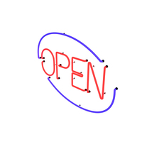 Open Sign PNG & PSD Images
