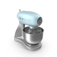 Smeg Stand Mixer Blue PNG & PSD Images