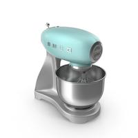 Smeg Stand Mixer Green PNG & PSD Images