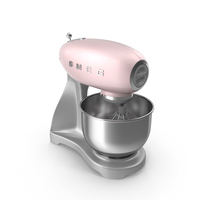Smeg Stand Mixer Pink PNG & PSD Images