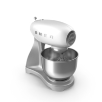 Smeg Stand Mixer White PNG & PSD Images
