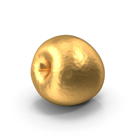 Gold Ambrosia Apple PNG & PSD Images