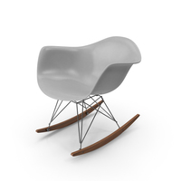 Eames Rocking Chair PNG & PSD Images