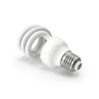 Fluorescent Bulb Spiral PNG & PSD Images