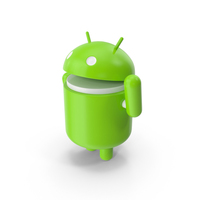 """Android Say """"Hello"""" PNG & PSD Images"""