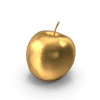 Gold Sweetie Apple PNG & PSD Images