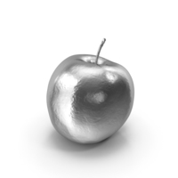 Silver Sweetie Apple PNG & PSD Images