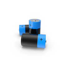 D Battery Group PNG & PSD Images