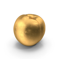 Gold Nectarine PNG & PSD Images