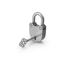 Padlock With Key PNG & PSD Images