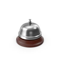 Silver Service Bell PNG & PSD Images
