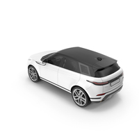 White Range Rover PNG & PSD Images