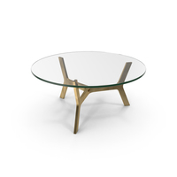 Elke Round Coffee Table PNG & PSD Images