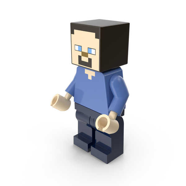 Lego Minecraft Minifigure PNG & PSD Images